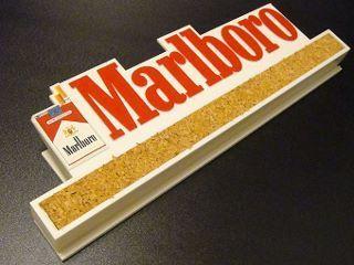 ★70'sマルボロタバコ広告メモクリップ&コルクボード