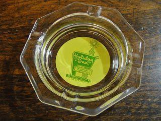 ★70'sアメリカンホテル ホリデイ・イン八角形ガラス灰皿