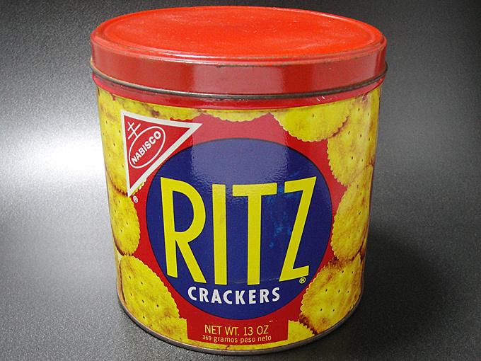 ★70'sアメリカ製ナビスコ社リッツ クラッカー缶
