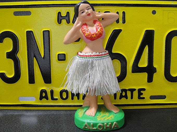 ★50'sハワイアン フラドール アロハガール ヴィンテージ人形
